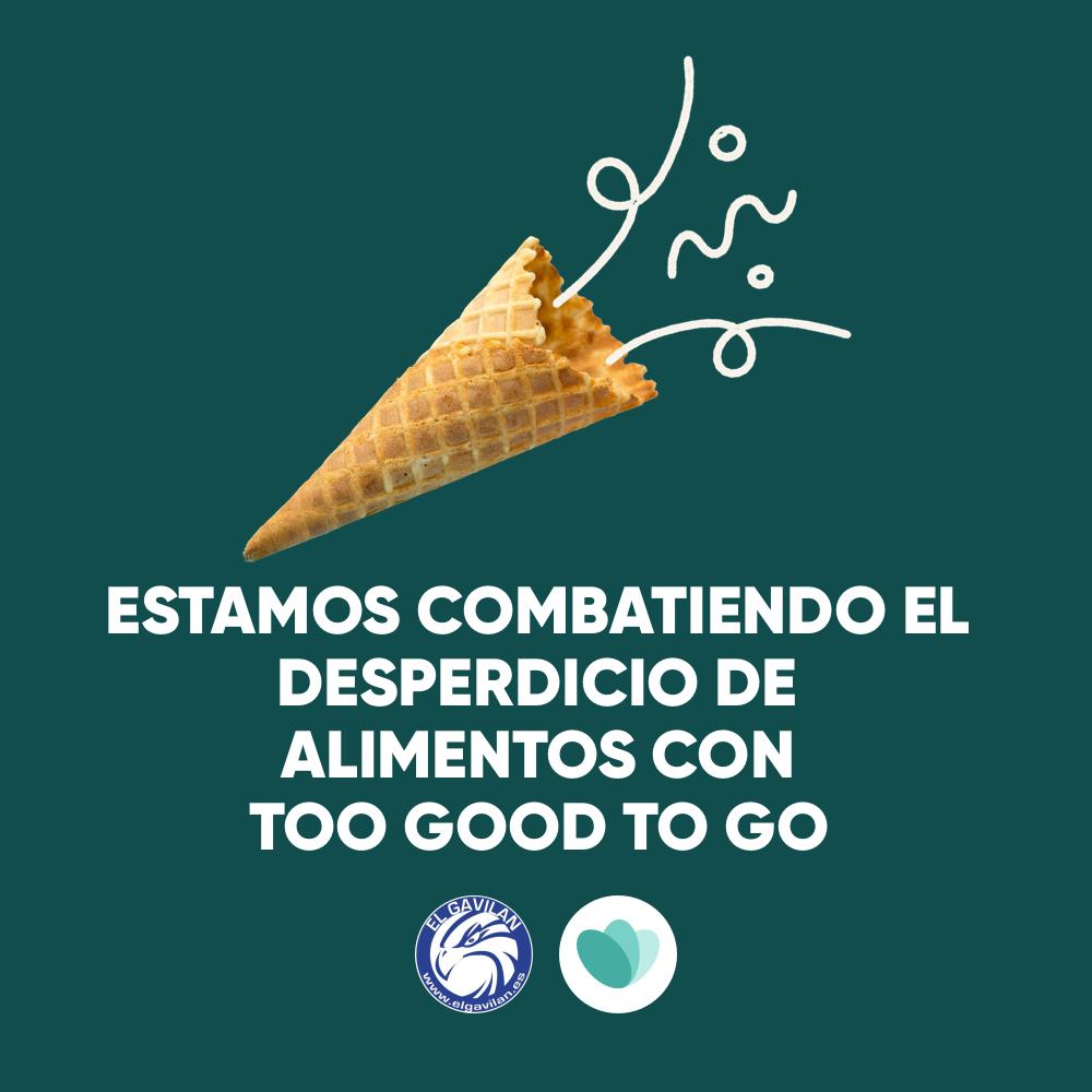 El Gavilán colabora con Too Good To Go