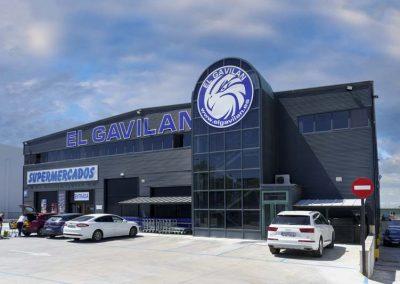 Fachada exterior El Gavilán Rivas Vaciamadrid